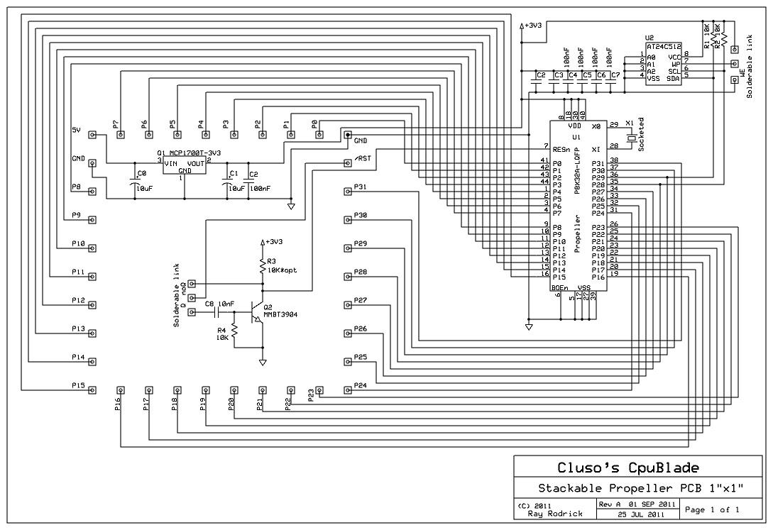 Cluso's CpuBlade Schematic